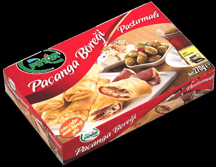 Paçanga Böreği- Pastırmalı Börek